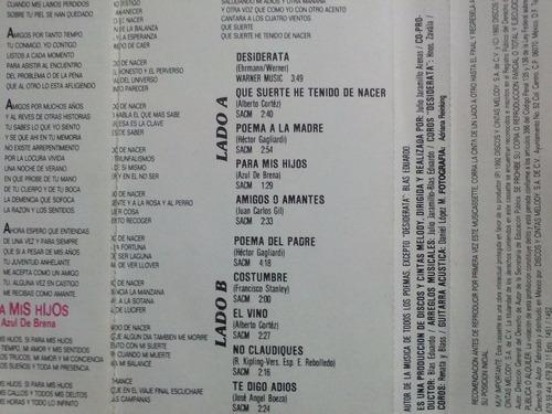 paco stanley: paco y sus poemas. cass usado 1ra ed 1992 mex.