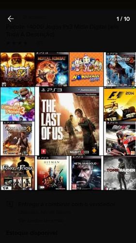 pacote 4000 mil jogos em midia digital direto da psn.