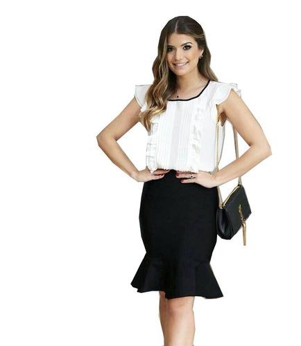 pacote 8 saias da moda roupas femininas evangélicas