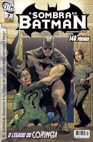 pacote a sombra do batman 06 e 07 (1ª série)