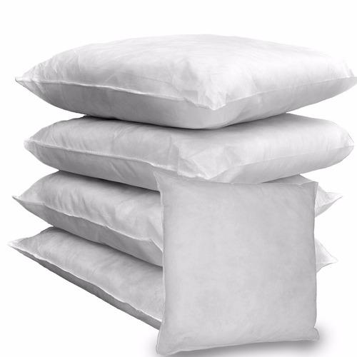 pacote com 20 refis para almofada 35x35 cm