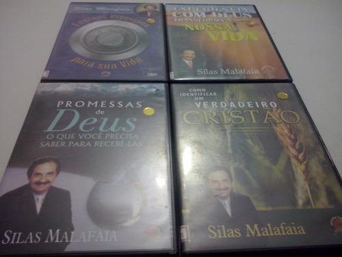 pacote com 4 pregações do pastor silas malafaia