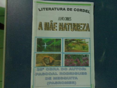 pacote com 5 literatura de cordel