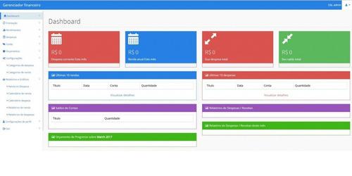 pacote com sistemas em php  venda, gestão, projetos