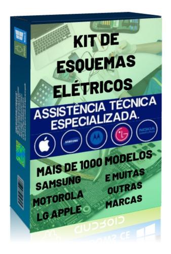 pacote + de 400 esquemas e manuais elétricos para celular