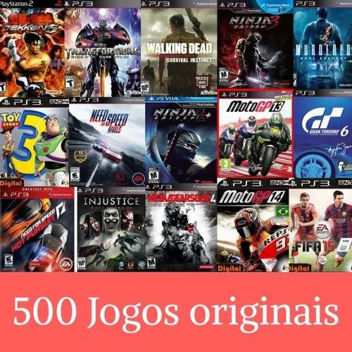 pacote de 500 jogos originais de ps3!!
