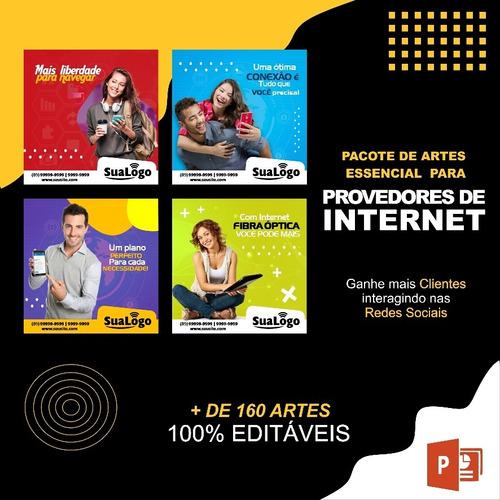 pacote de artes para provedores de internet - 2019