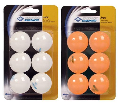 pacote de bolas tênis de mesa modelo jade c/ 06 und(s) - (do