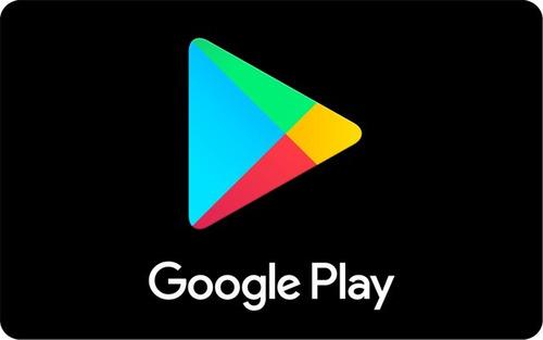 pacote de gift card's google play de r$:270 por r$:260