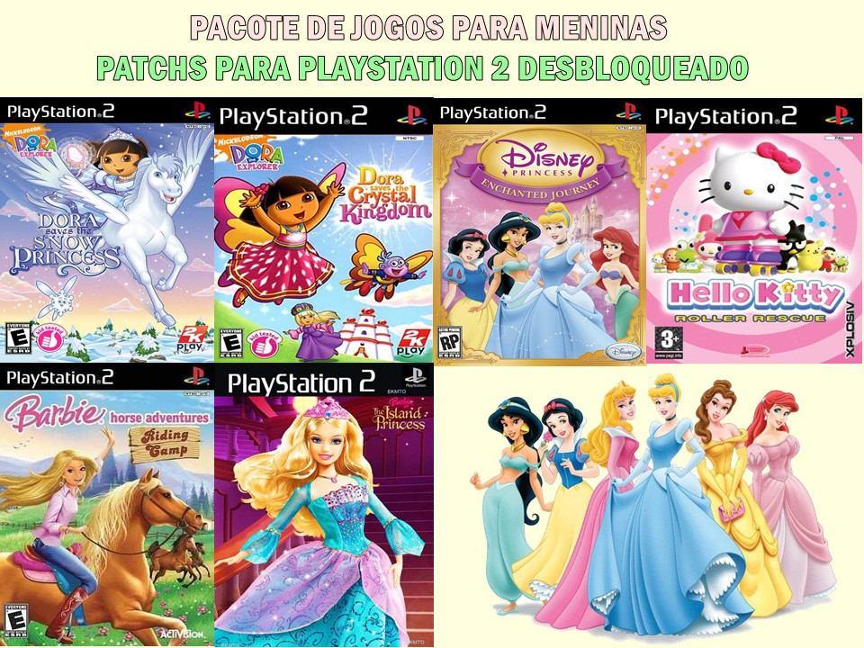 393cfad7b3 pacote de jogos infantis para meninas - playstation 2. Carregando zoom.