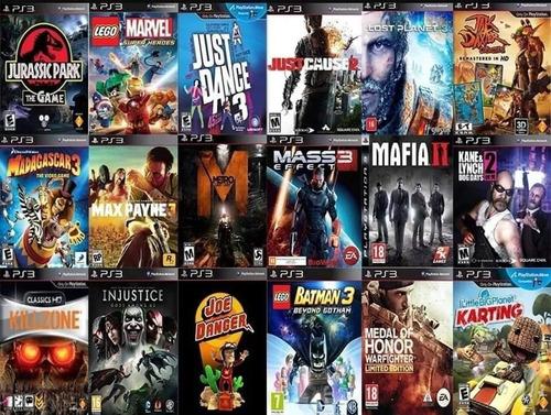 pacote de jogos ps3 com 15 mil jogos ou desbloqueio ps3