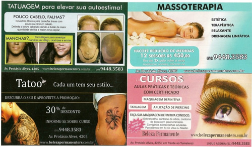 pacote de massagem