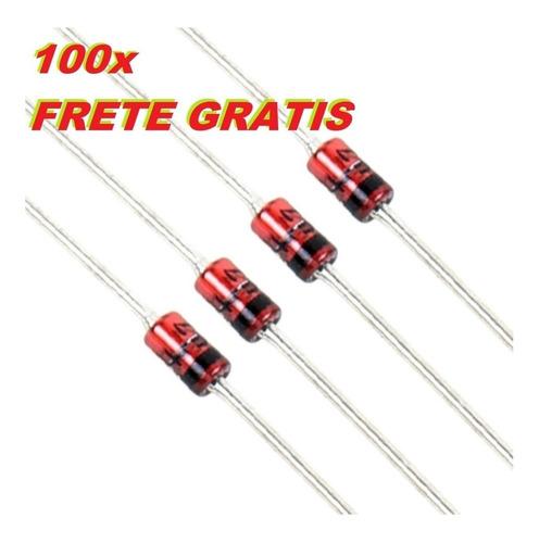pacote diodo 1n4148 in4148 100 peças