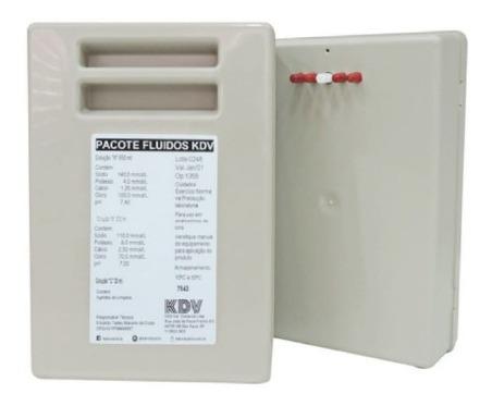 pacote fluídos cornley - k, cl, na, ph, ca (650ml) max íon.