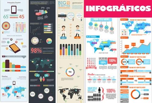 pacote gigante de infográficos editáveis alta qualidade