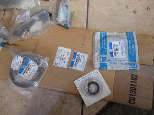 pacote lote peças novas original chevrolet retentor junta