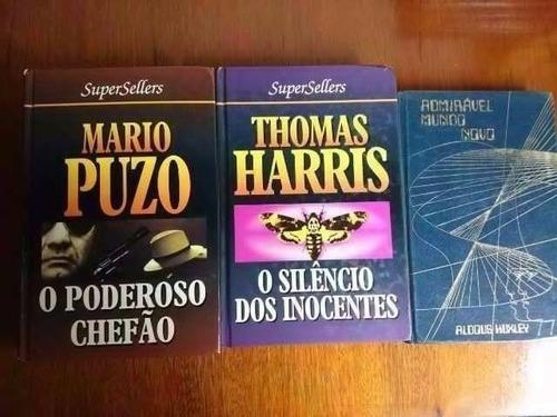 pacote = mais de 150 livros = r$ 2 cada