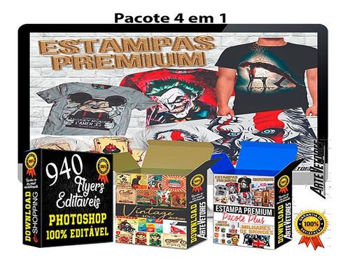 pacote ogabel estampas camisetas sublimação artes vetores