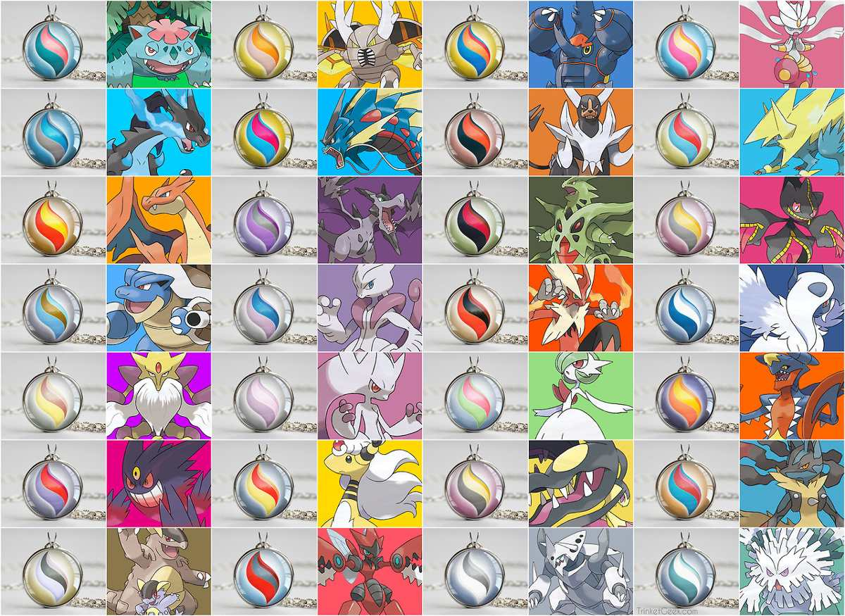 Pacote Pokemon X Y Or As Com Todas As 50 Mega Evolu 231 245 Es