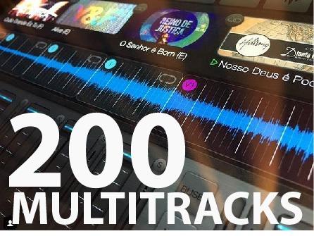 Pacote Premium Mais De 200 Multitracks Gospel | Vs Aberto