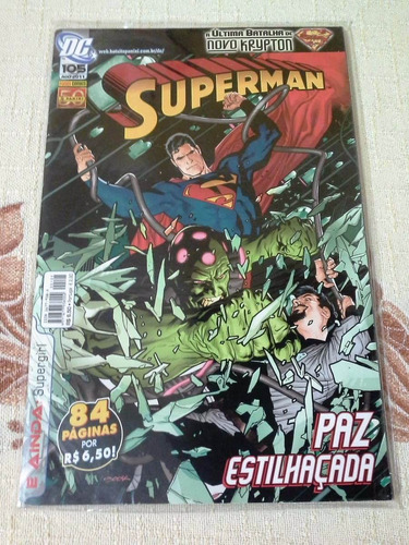 pacote superman - panini