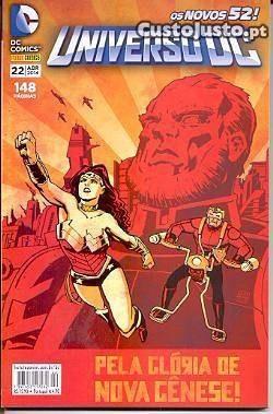 pacote universo dc (novos 52) - edições 21,22