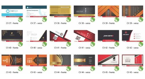 pacote vetores cartões panfletos estampas fontes flyers