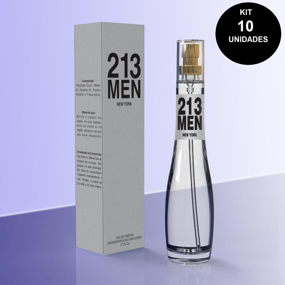 b8860a80a Pacotão 10 Perfumes Importados