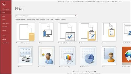 pacotão de sistemas desenvolvido em access envio rápido