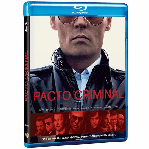 pacto criminal johnny depp pelicula blu-ray
