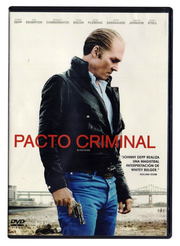 pacto criminal johnny depp pelicula dvd