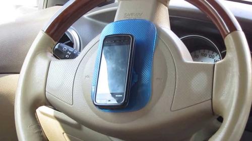 pad antideslizante mágico para auto. celular, gps, gafas etc