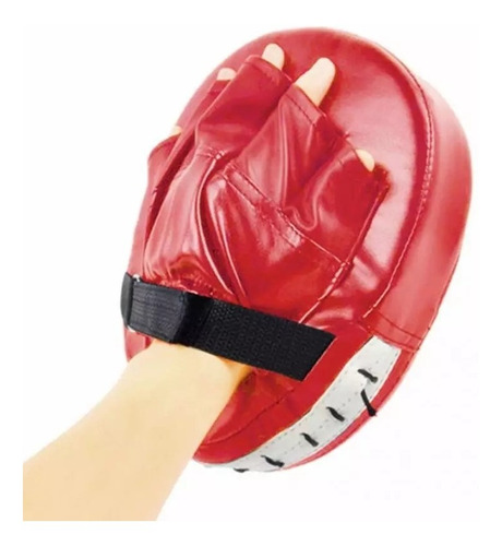 pad boxeo golpes entrenamiento boxing mitt punch mma thai