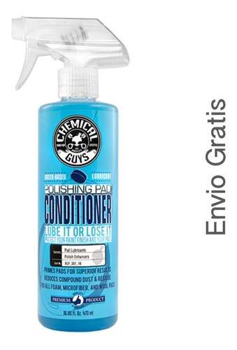 pad conditioner chemical guys acondicionador de borlas