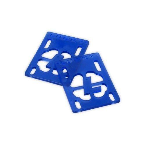 pad lucky risers monopatín choque riser 4 mm azul
