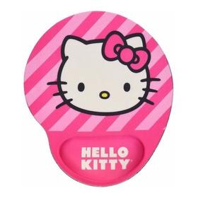 Pad Mouse Con Gel - Hermoso Diseño Hello Kitty
