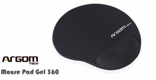 pad mouse de gel 360° licra antideslizante argom