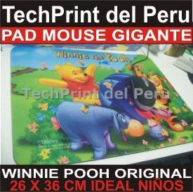 pad mouse gigante disney winnie pooh original para niños