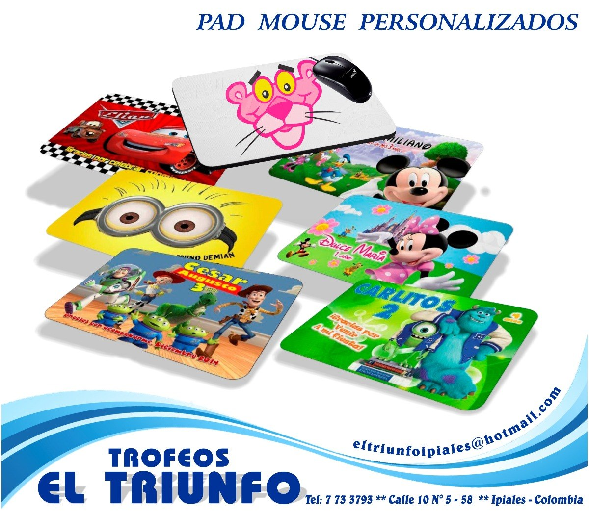 b4ab8fdbe Pad Mouse Personalizado Fullcolor 22 X 18 Cms -   10.000 en Mercado ...