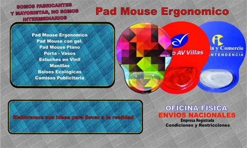 pad mouse personalizados - pad mouse publicitarios