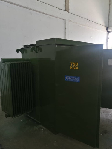 pad mouted 750kva marca transval