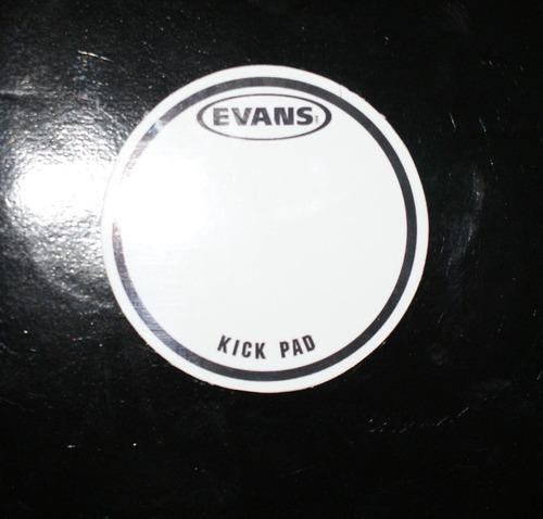 pad para bumbo em poliestireno com adesivo 3m kick pad duplo