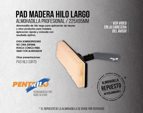 pad pro hilo largo almohadilla lasures envío gratis* + promo