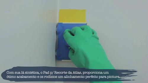 pad recorte para pintura em paredes atlas