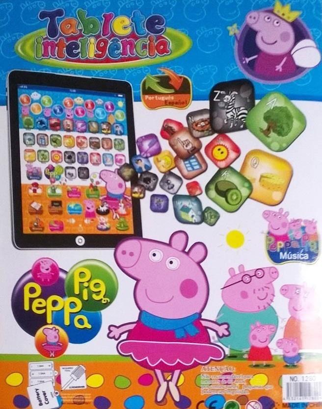 pad tablet infantil peppa pig brinq intelig jogos musica cri. Carregando  zoom.