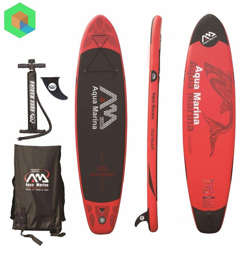 paddle board inflable aqua marina monster exclusivo
