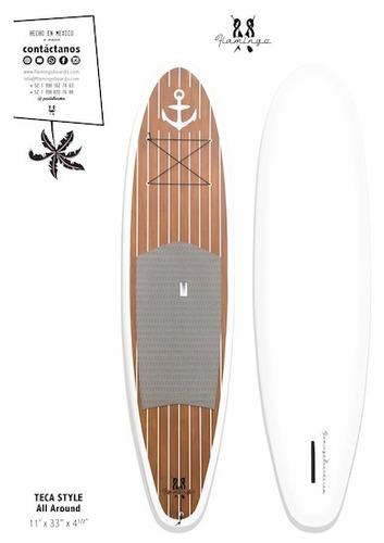 paddle board pack! tabla 11' + remo + leash.