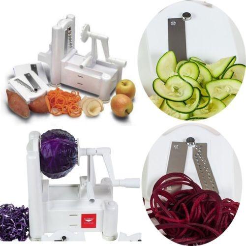 62e6cf5f0 Paderno Mundo Cocina A4982799 Spiralizer Tri-lámina Vegetal ...