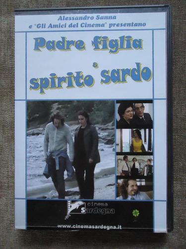 padre, figlia & spirito sardo - filme italiano - dvd