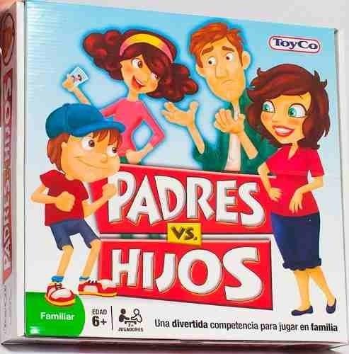 Padres Vs Hijos El Juego De Mesa De La Familia De Toyco 729 90